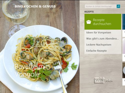 Windows 8.1 Kochen