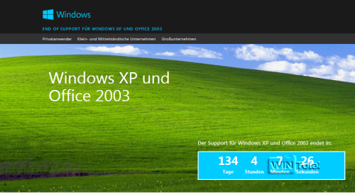 Supportende Windows XP