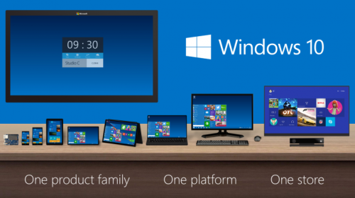 Windows 10, eine Plattform