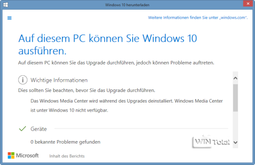 Win10 Upgrade