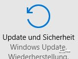 Update und Sicherheit Windows 10