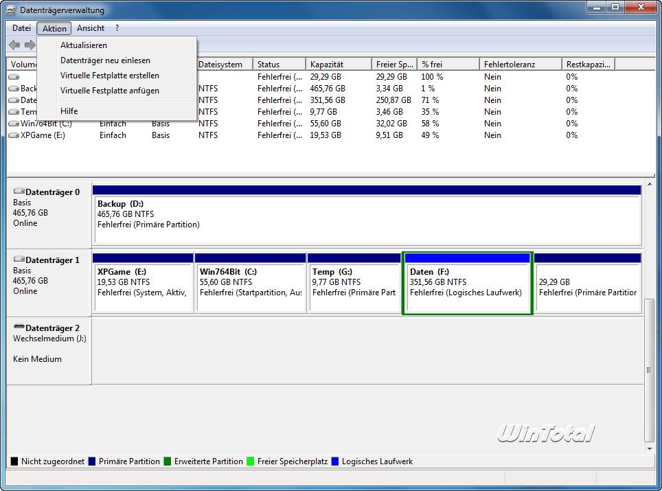 Bildergebnis für virtuelle festplatte anfügen windows 10