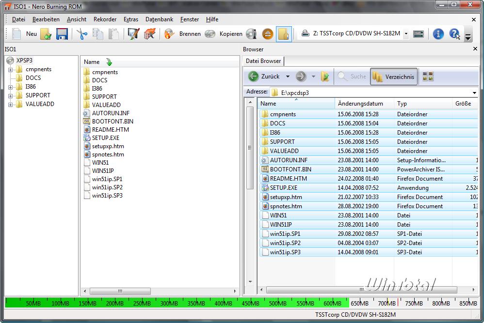 disquette demarrage xp sp2