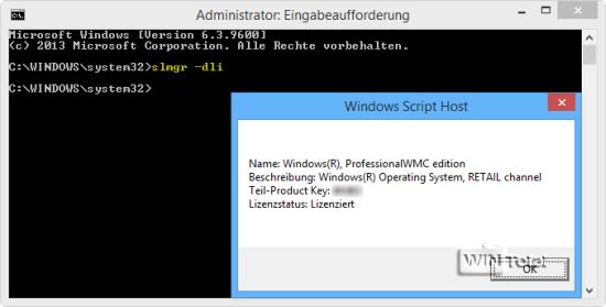 windows 10 registration key auslesen