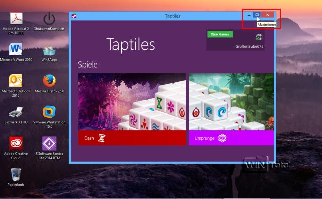 Apps als Fenster auf dem Desktop darstellen - Tipps & Tricks