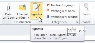 Outlook Signatur Nicht Mehr Verfügbar Tipps Tricks