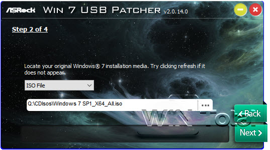 Asrock Windows 7 USB Patcher