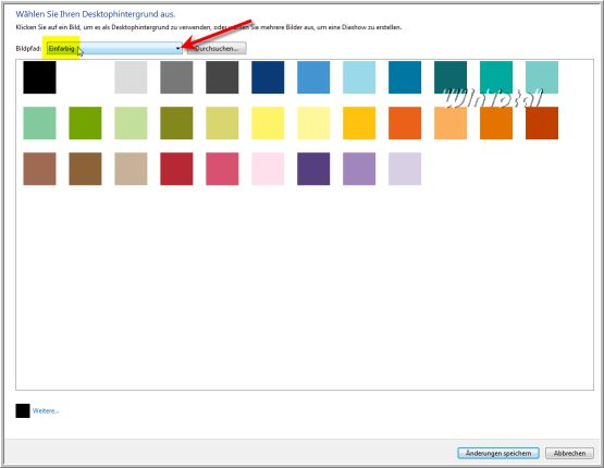 Desktop hintergrund einfarbig gpo
