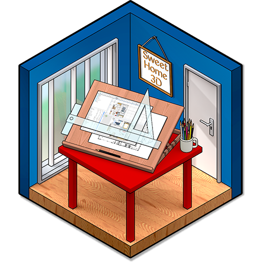 sweet home 3d download kostenlos schnell auf. Black Bedroom Furniture Sets. Home Design Ideas