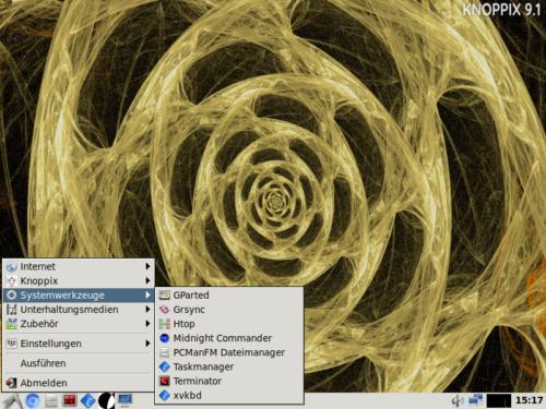 Knoppix ist ein weiteres Linux aus Deutschland
