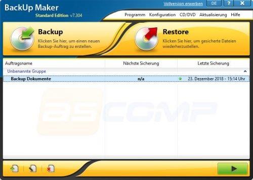 Backup Maker Standard