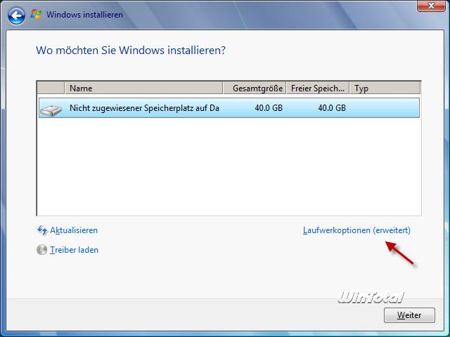 Die für das system reservierte partition konnte nicht aktualisiert werden