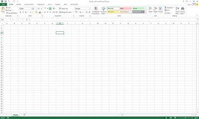 Excel mit Metro-Oberfläche