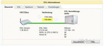 Typische DSL-Uploadrate