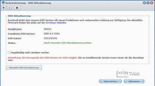 DSM-Aktualisierung