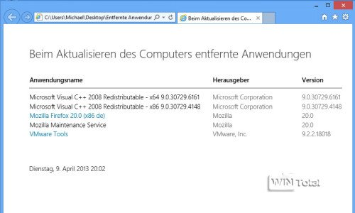 Windows 8, Auffrischen, Artikel