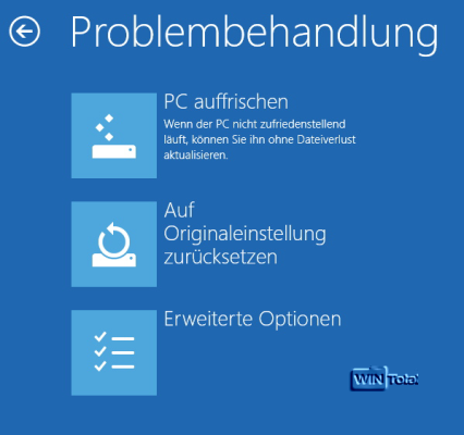 Artikel Bootmanager, Windows 8