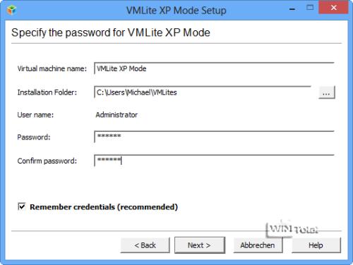 VMLite, XP-Modus, Artikel