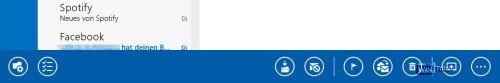 Windows 8.1 Minibar