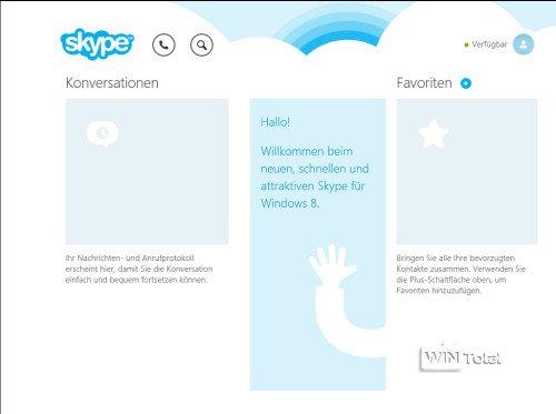 Windows 8.1 Skype