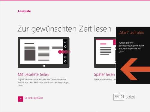 Windows 8.1 Hinweise