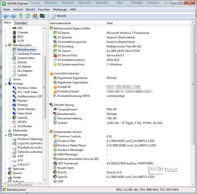 AID64, Windows