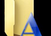 Windows Font Ordner