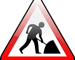 Baustelle, Schild, Wartung, http://pixabay.com/de/bauarbeiten-baustellen-147759/