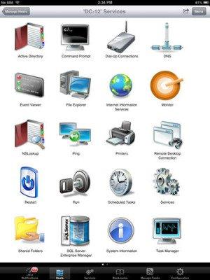 Mobile Admin iPad