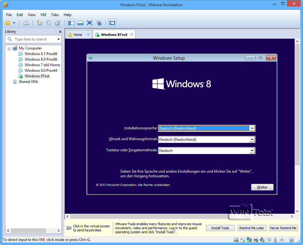 windows 8 1 install