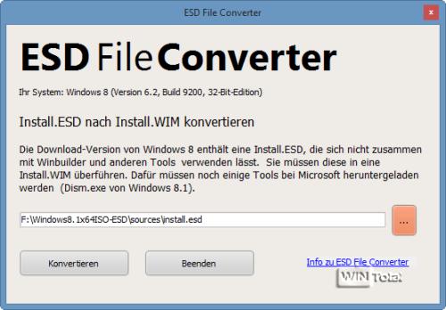 ESD File Converter