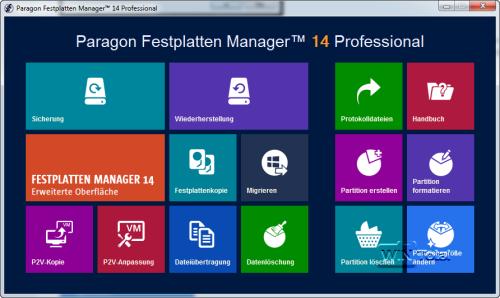 Paragon Festlatten Manager 14