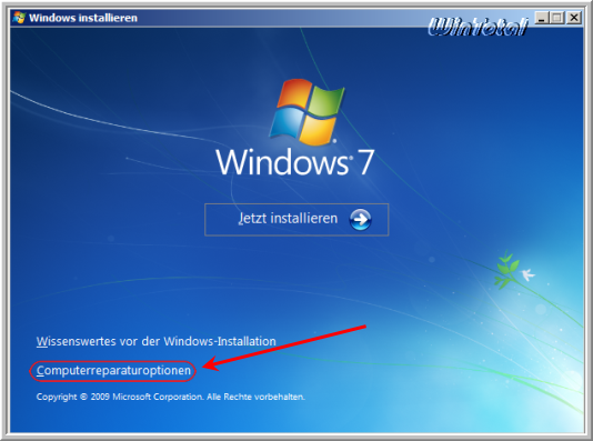 kennwort windows 7