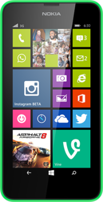Lumia 630 mit Windows Phone 8, Bildquelle: Microsoft