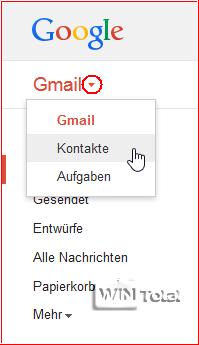 Gmail-Kontakte