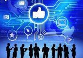 Social Media, Facebook, Silhouettes Business People Social Media, © Rawpixel - Fotolia.com