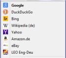 Firefox Suchmaschinen