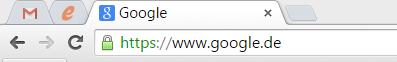 Tabs an den Browser anheften