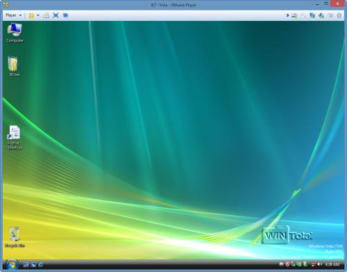 Desktophintergrund geändert