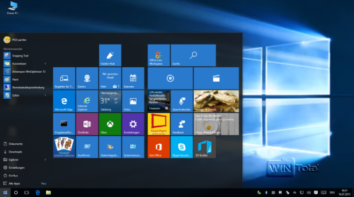Windows 10 TH1 Version 10240