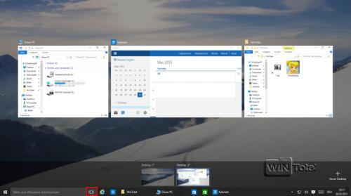 Virtueller Desktop - Gefilterte Version