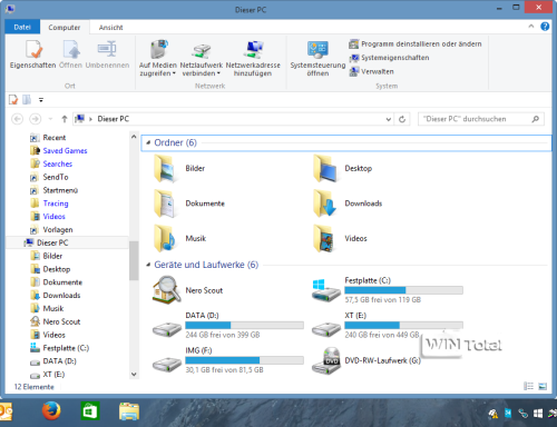 Windows 8.1 Explorer