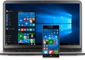 Windows 10 auf Laptop und Smartphone