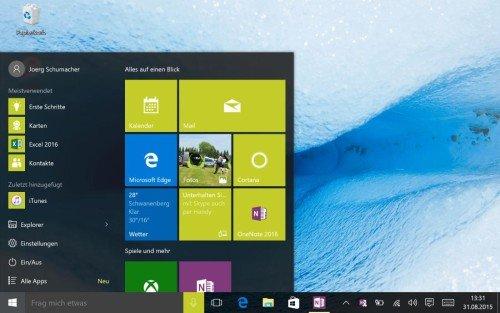 Desktop-Modus