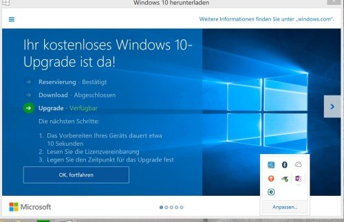 Upgrade auf Windows 10