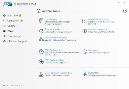 Tools, ESET Smart Security