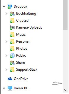 Integration Cloud-Dienste in Windows
