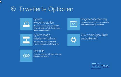 Systemreparaturdatenträger Windows 10