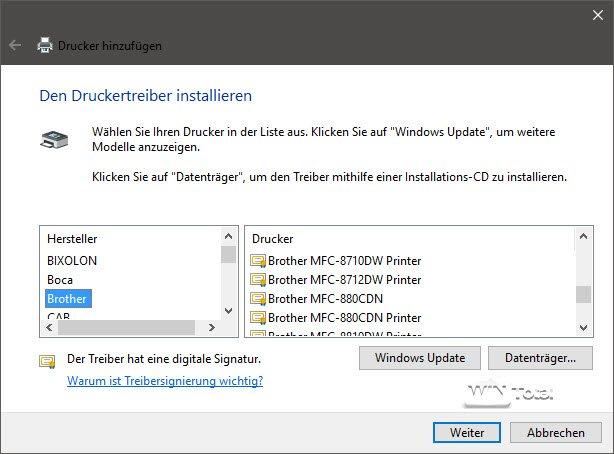 Drucker unter Windows 9 installieren, einrichten und Probleme