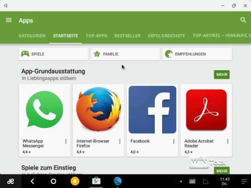 Abbildung 6: Google Play Store